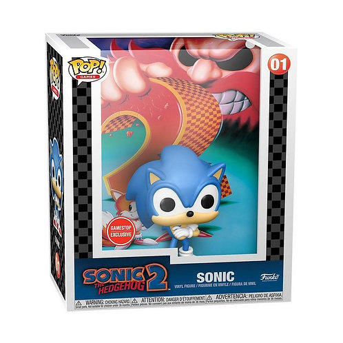 POP! Game Cover: Sonic the Hedgehog 2 - Sonic GameStop Exclusive Preorder