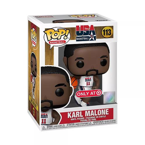 Funko POP! NBA Legends Karl Malone 1992 Team USA White Target Exclusive