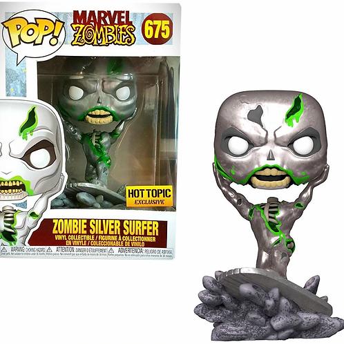 Funko Marvel Zombies POP! Marvel Silver Surfer #675