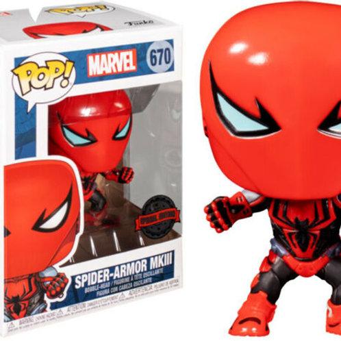 Funko Pop! Marvel Spider-Armor MKIII #670