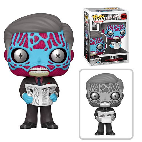 They Live Aliens Pop! Common + Chase Bundle Preorder