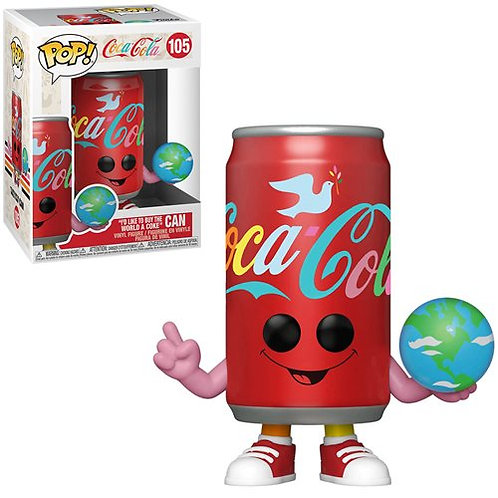 Coca-Coca I'd Like to Buy the World a Coke Can Pop! Vinyl Figure Preorder