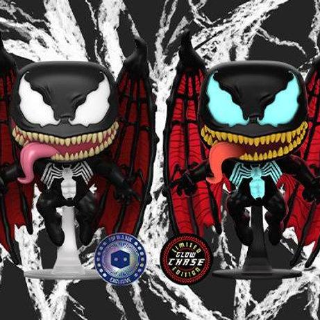 Venom with Wings Funko Pop! PIAB  Chase Bundle