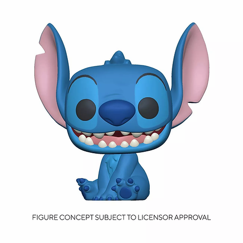 Funko POP! Disney Lilo & Stitch Seated Stitch Flocked Target Exclusive Preorder