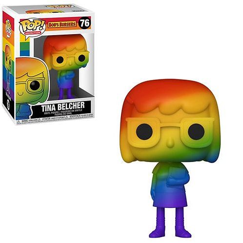 Bob's Burger Tina Belcher Pride 2021 Rainbow Pop! Vinyl Figure Preorder