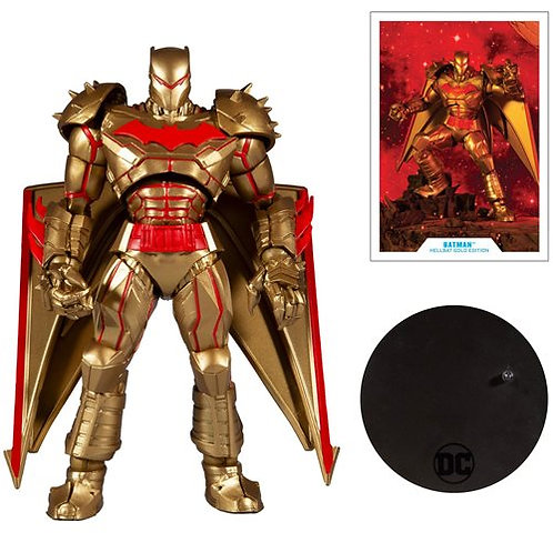 DC Multiverse Hellbat Gold Edition Action Figure Preorder