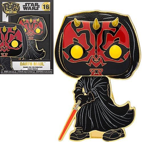 Star Wars Darth Maul Large Enamel Pop! Pin Preorder