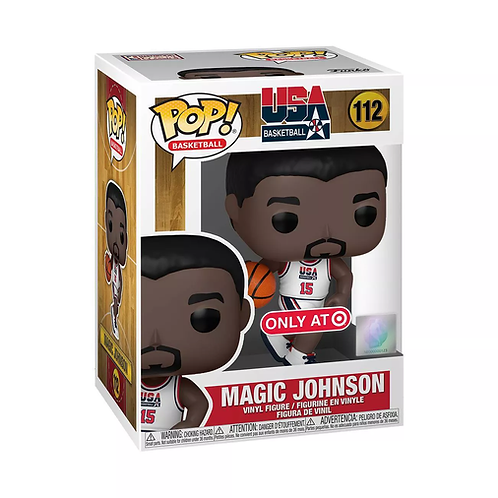 Funko POP! NBA Legends - Magic Johnson 1992 Team USA Target Exclusive