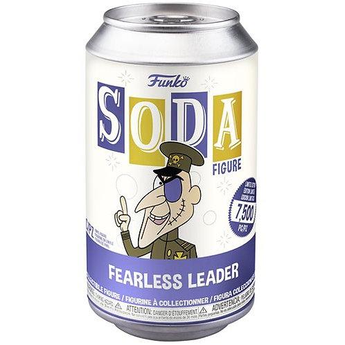 Funko Rocky and Bullwinkle Fearless Leader Vinyl Soda Figure Sealed