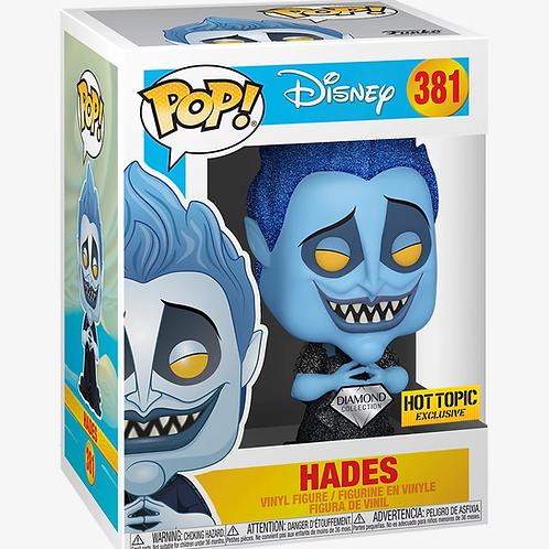 Funko POP! Disney Hercules Hades Diamond Collection Hot Topic Exclusive