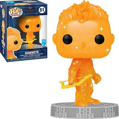 Avengers Infinity Saga Hawkeye Orange Artist Series Pop!  Preorder