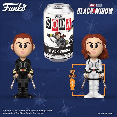 Funko Vinyl Soda Black Widow 1/6 Possable Chase Funko Shop Exclusive