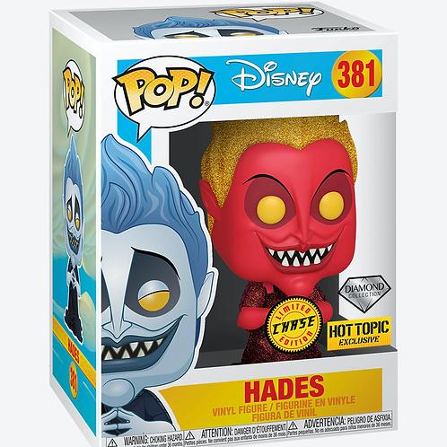 Disney Funko Pop! Hades Diamond Collection CHASE #381