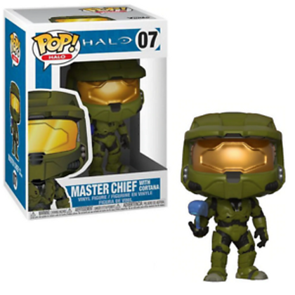 Funko Pop! Games: Halo - Master Chief with Cortana Vinyl Figure