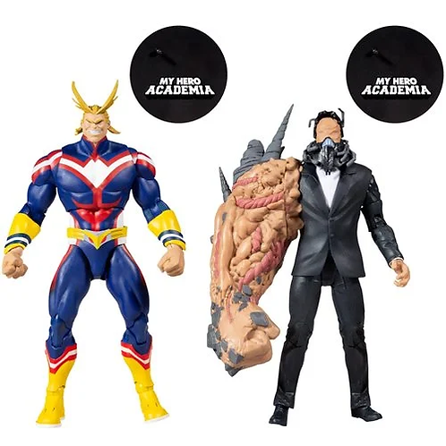 My Hero Academia All Might vs All for One 7-Inch Action Figure 2-Pack Preorder