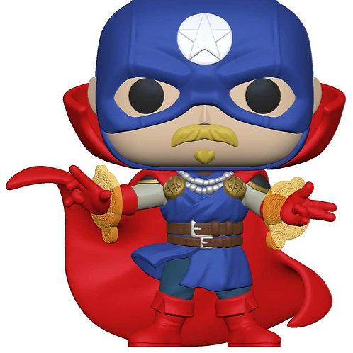 POP Marvel: Infinity Warps- Soldier Supreme GITD Amazon Exclusive Preorder