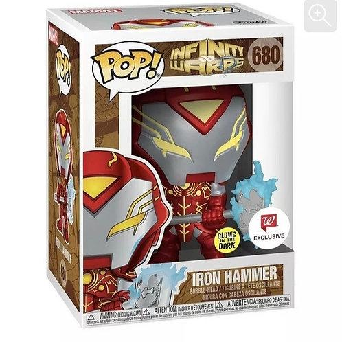 Funko Pop! Infinity Warps - Iron Hammer Glow in the Dark Walgreens Exclusive