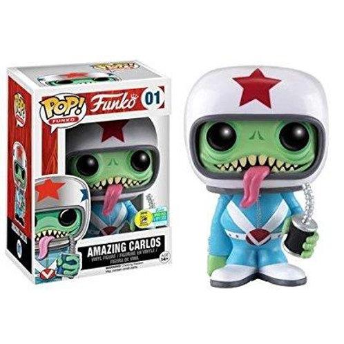 Funko Pop! amazing carlos sdcc exclusive LE 3000 Pcs