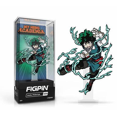 My Hero Academia Izuku Midoriya Action FiGPiN Classic Enamel Pin