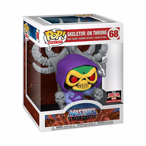 "Funko POP! Deluxe: MOTU - 10"" Skeletor on Throne (Target Exclusive)"