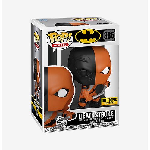 Funko DC Comics Batman Pop! Heroes Deathstroke Hot Topic Exclusive
