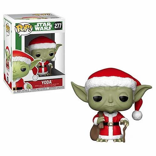 Funko Pop ! Star Wars Holiday Santa Yoda #277