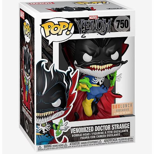 Funko Pop! Marvel Venom Venomized Doctor Strange GITD Box Lunch Excl