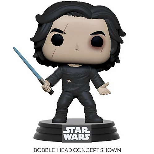 Star Wars: The Rise of Skywalker Ben Solo with Blue Saber Pop!