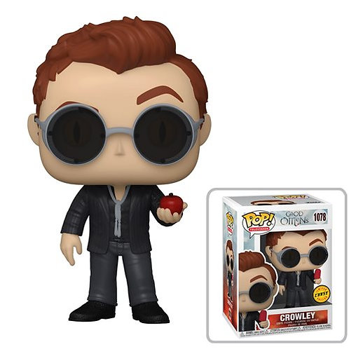 Good Omens Crowley with Apple Pop! Common + Chase Bundle Preorder