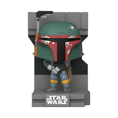 POP! Deluxe Star Wars Bounty Hunters  Boba Fett Metallic Gamestop