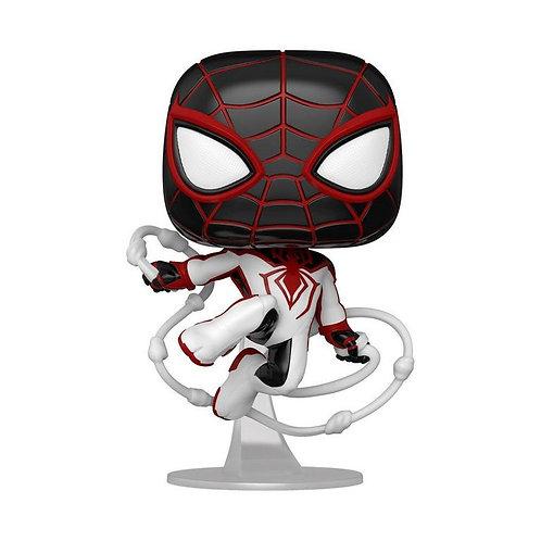 Funko Pop! Games: Marvel's Spider-Man:  Miles Morales Tracksuit