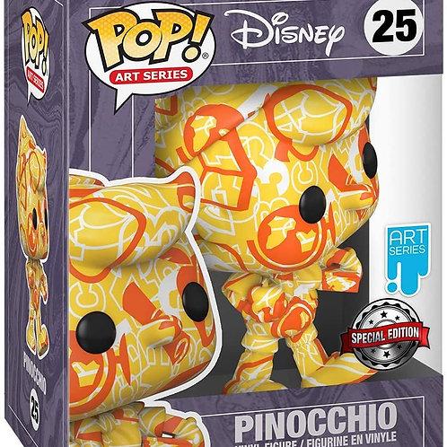 Funko Pop! Artist Series Disney Treasures of The Vault Pinocchio Amazon Excl