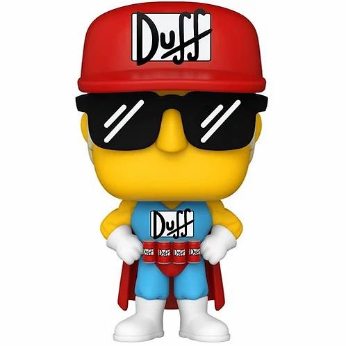 Funko Pop! Simpsons Duffman Pop! Vinyl Figure