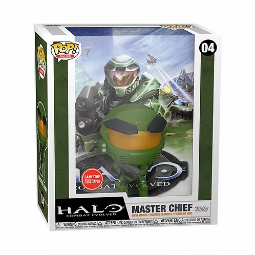 POP! Game Cover: Halo Combat Evolved Master Chief GameStop Exclusive
