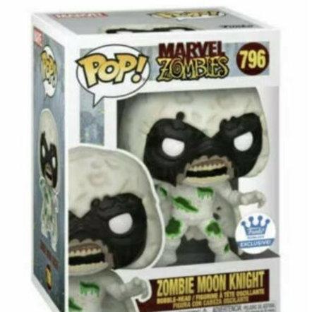 Funko Pop Marvel Zombie Moon Knight Funko Shop Exclusive