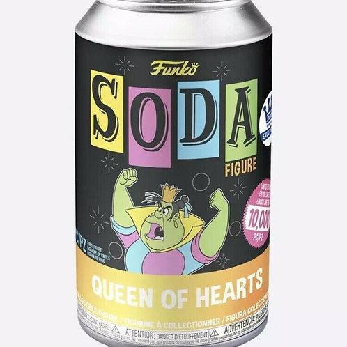 FUNKO POP ALICE IN WONDERLAND BLACK LIGHT QUEEN OF HEARTS VINYL SODA
