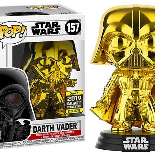 Funko Pop! Star Wars Darth Vader #157  Gold Chrome