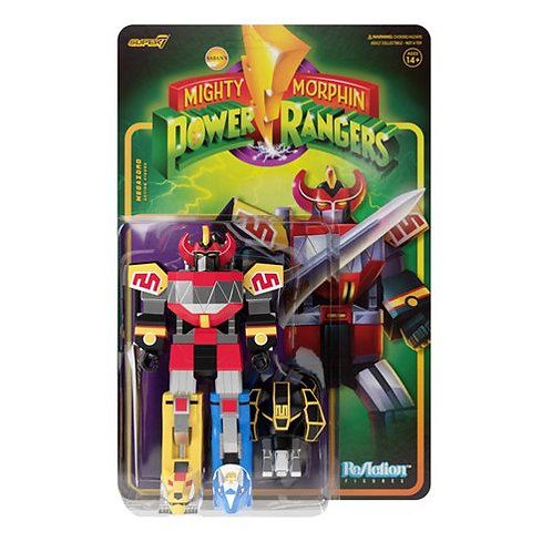 Mighty Morphin Power Rangers Megazord 3 3/4-Inch ReAction Figure Preorder