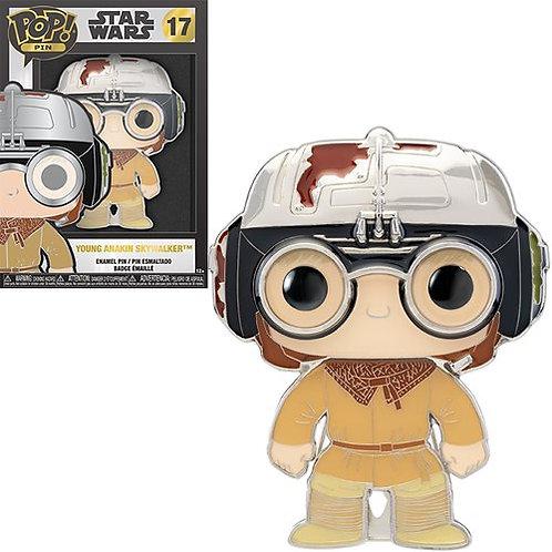 Star Wars Young Anakin Large Enamel Pop! Pin Preorder