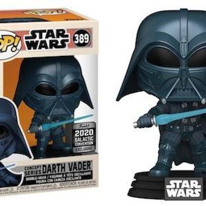 Funko Pop! Star Wars Darth Vader #389 Concept Series Galactic Convention