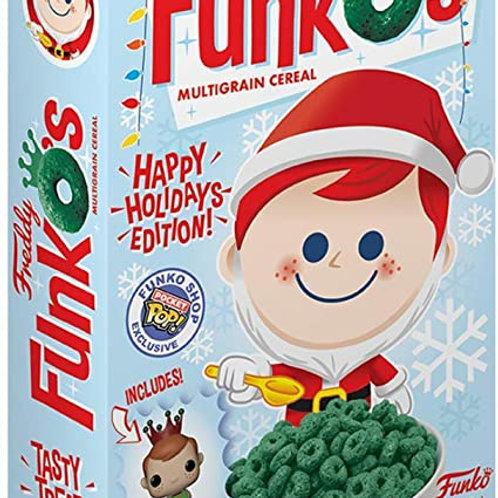 Funko's Cereal: Santa Freddy Funko with Pocket POP! Funko Exclusive