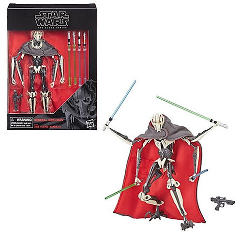 Star Wars The Black Series General Grievous 6-Inch Action Figure Preorder