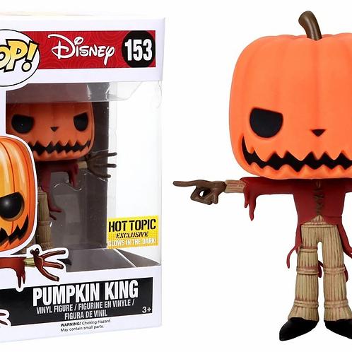 Funko Pop! Disney Pumpkin King # 153 Hot Topic Exclusive