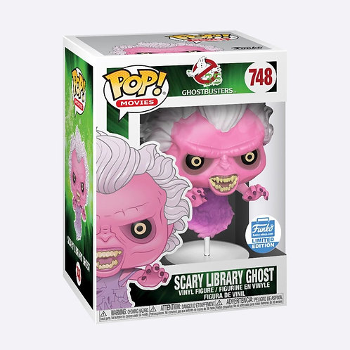 SCARY LIBRARY GHOST (TRANSLUCENT) - GHOSTBUSTERS