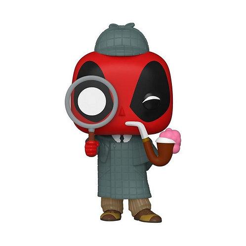 POP! Marvel: Deadpool 30th Anniversary Sherlock Deadpool  GameStop