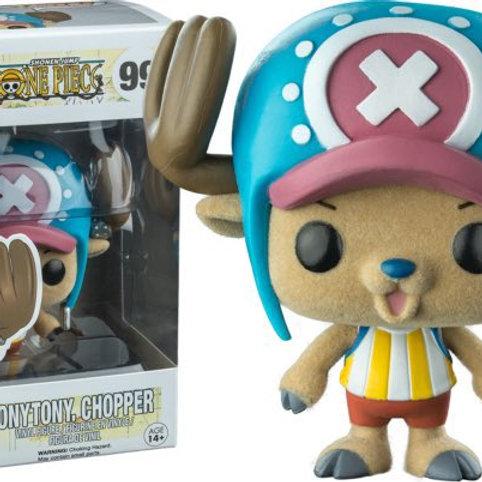 One Piece - Tony Tony Chopper Flocked Pop! Vinyl Figure Preorder