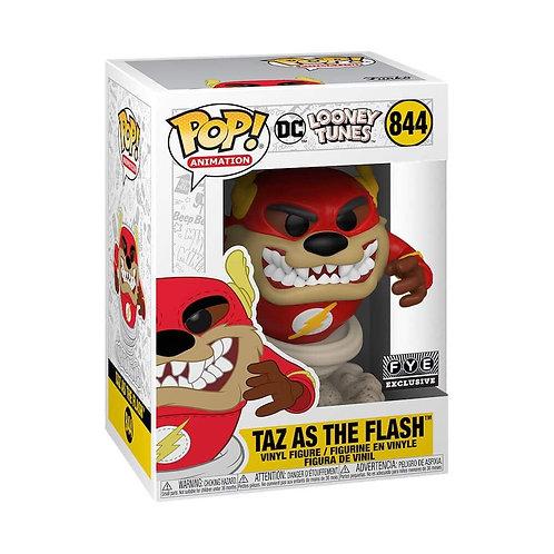 Funko Pop! Looney Tunes Taz as The Flash #844 FYE Exclusive