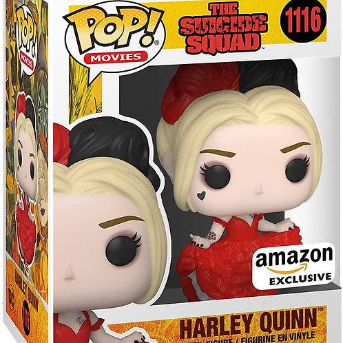 Funko Pop! Movies The Suicide Squad  Harley Quinn Dress Amazon Ex