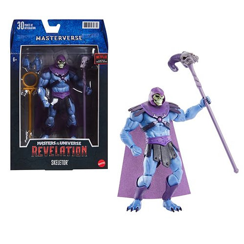 Masters of the Universe Masterverse Revelation Skeletor Preorder