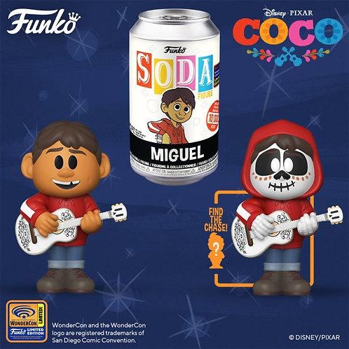 Funko Vinyl SODA Disney and Pixar Coco Miguel w/Guitar 1/6 Possible Chase